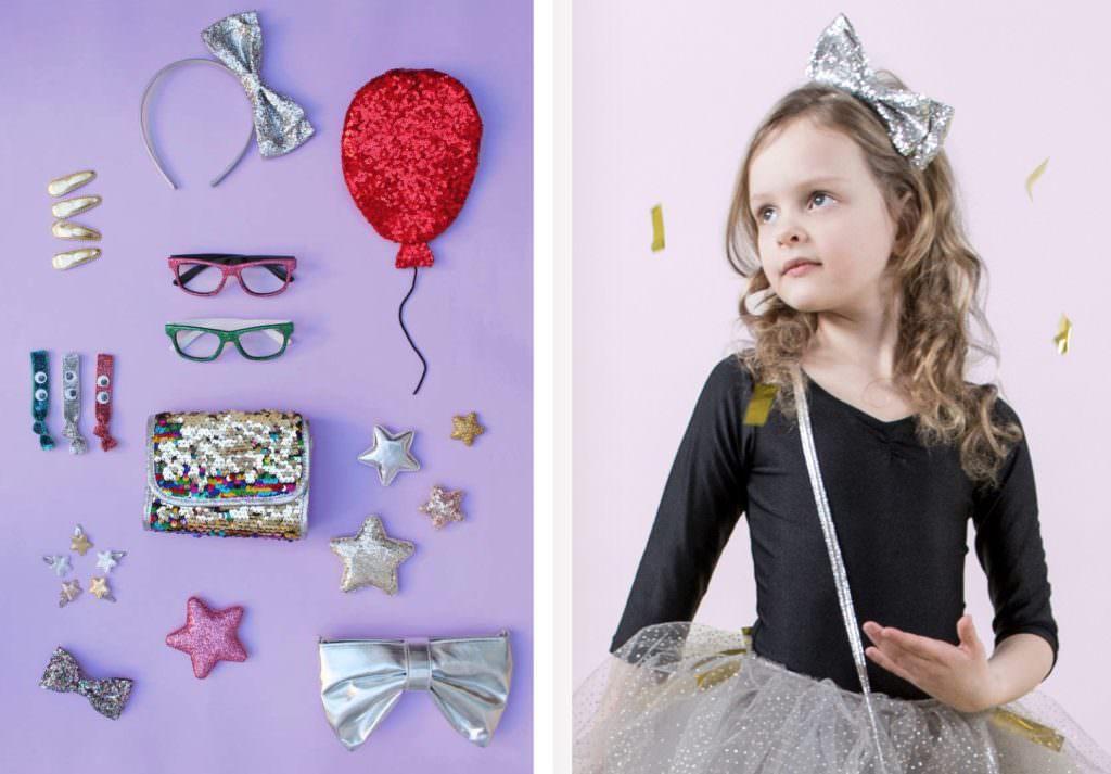 Glittery kids accessories from Mimi & Lula