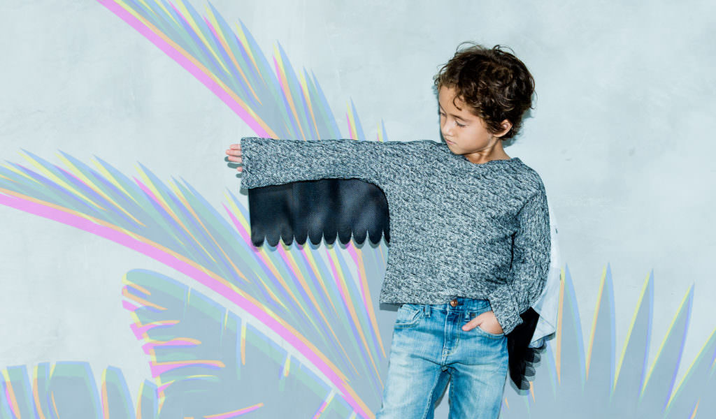 Condor flight top for fall 2017 kidswear by Cavalier