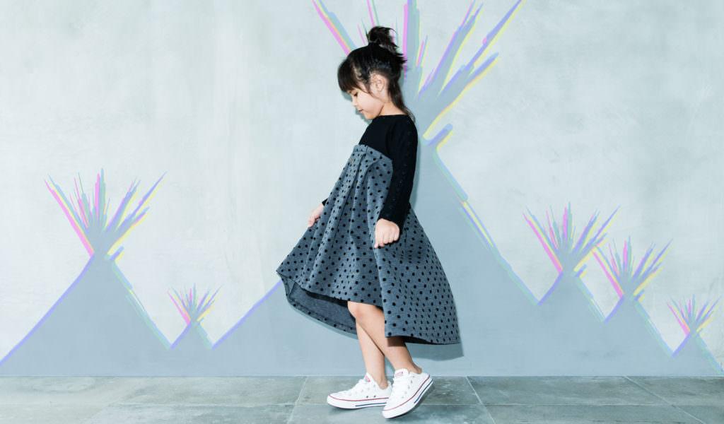 Nari Nari dress by Cavalier for girls fashion autumn 2017