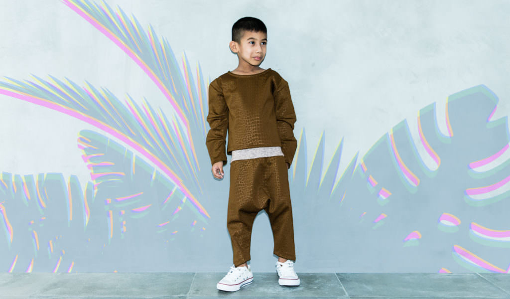 3D Nile top and pants at Cavalier for cool kids winter 2017
