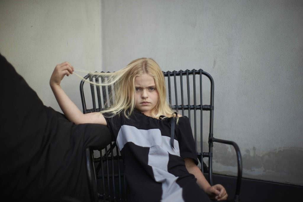 Simple kids fashion with great portraits by Haas for winter 2017
