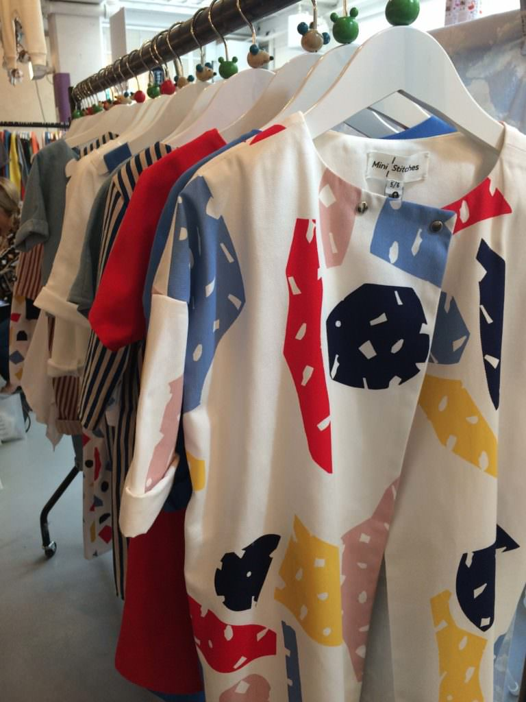 Graphic prints at Mini Stitches for SS18 kids fashion at Dot to Dot London
