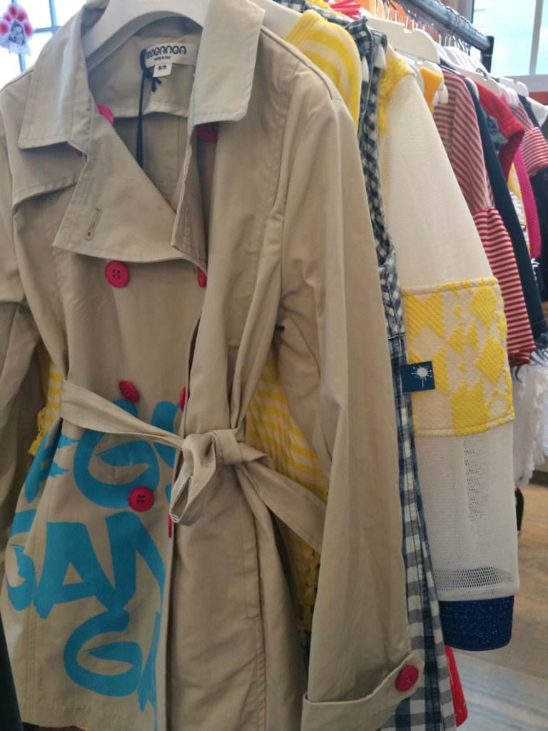 Goganga from Italy had an interesting first collection with some great jackets