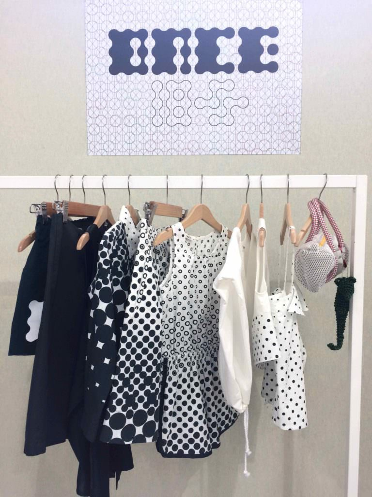 Graduated monochrome by Once Boutique at Playtime Paris kids fashion trade show for SS18