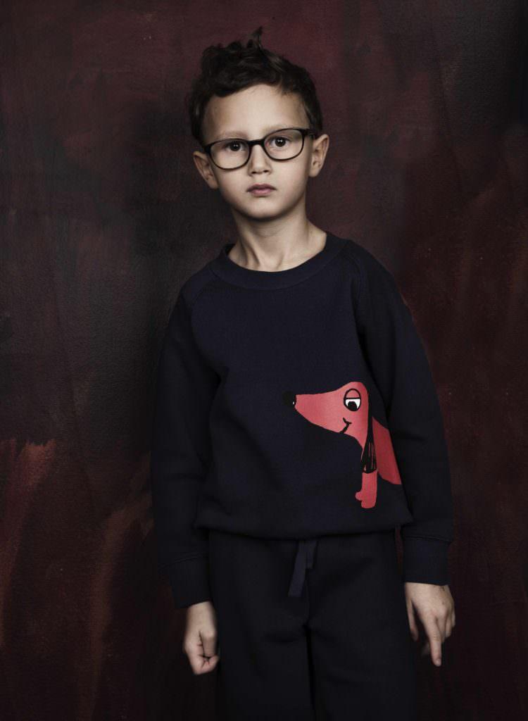 A simplified style from Mini Rodini for fall/winter 17 boyswear