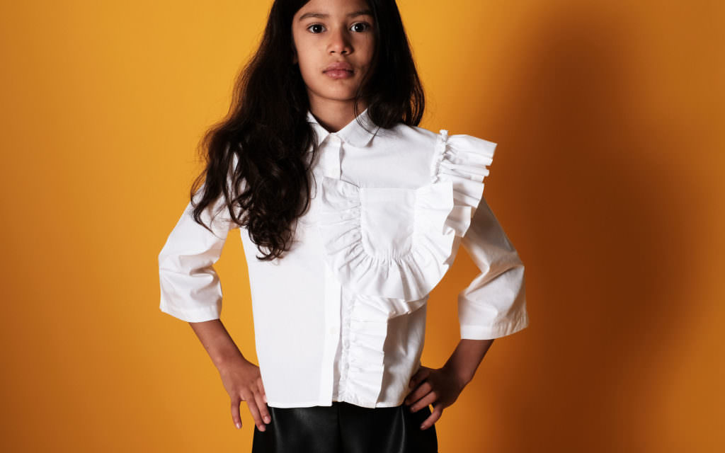 Not just a white shirt - Wolf & Rita for fall/winter 2017 new release kids fashion