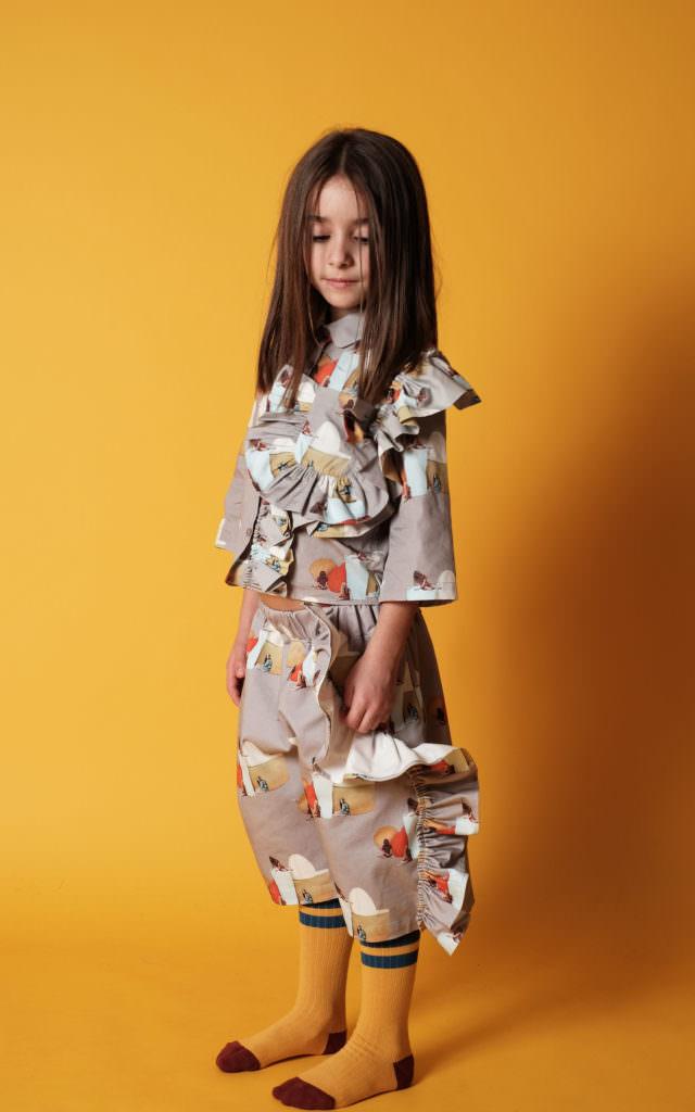 Such cool prints Wolf & Rita fall/winter 2017 kidswear