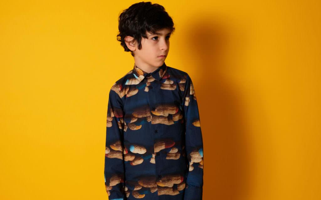 Peanut art shirt at Wolf & Rita for fall 2017 kidswear released on 20th July