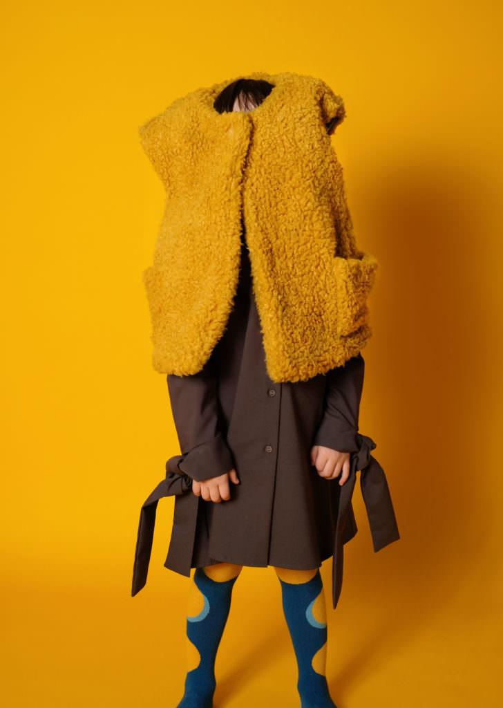 No More Boring Art kidswear by Wolf & Rita for fall/winter 2017