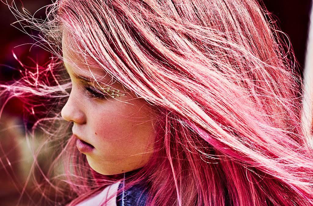 Festival hair! Shoot by Emma Tunbridge kids summer 2017