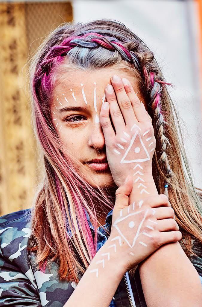 Camo bomber by River Island, kids festival fashion by Emma Tunbridge