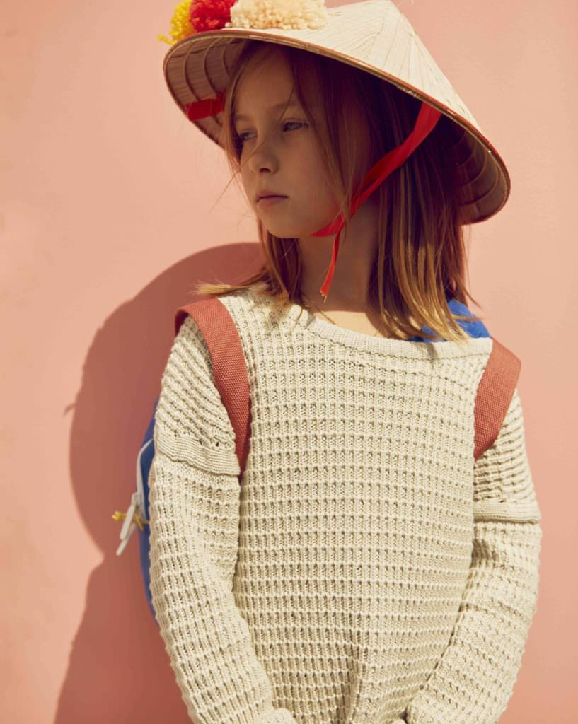 Luca in a top by Ebbe Kids for SS18 photo by Anders Hald