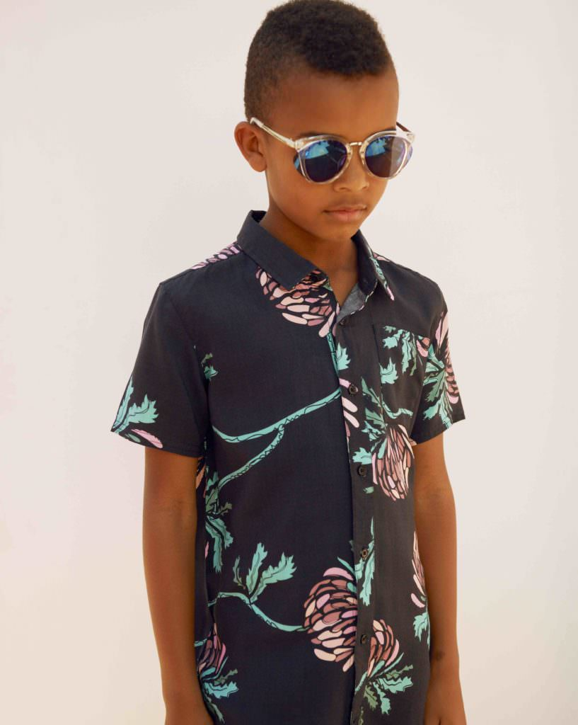 CIFF Kids exclusive backstage report by Anders Hald, Anton wears a shirt by Someday Soon for SS18 kidswear