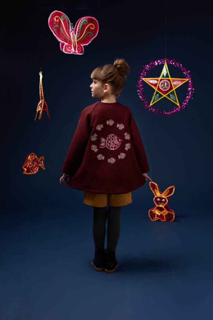 Inspired by Vietnamese culture, Hannah & Tiff is a new kids fashion label showing at CIFF Kids trade fair this week