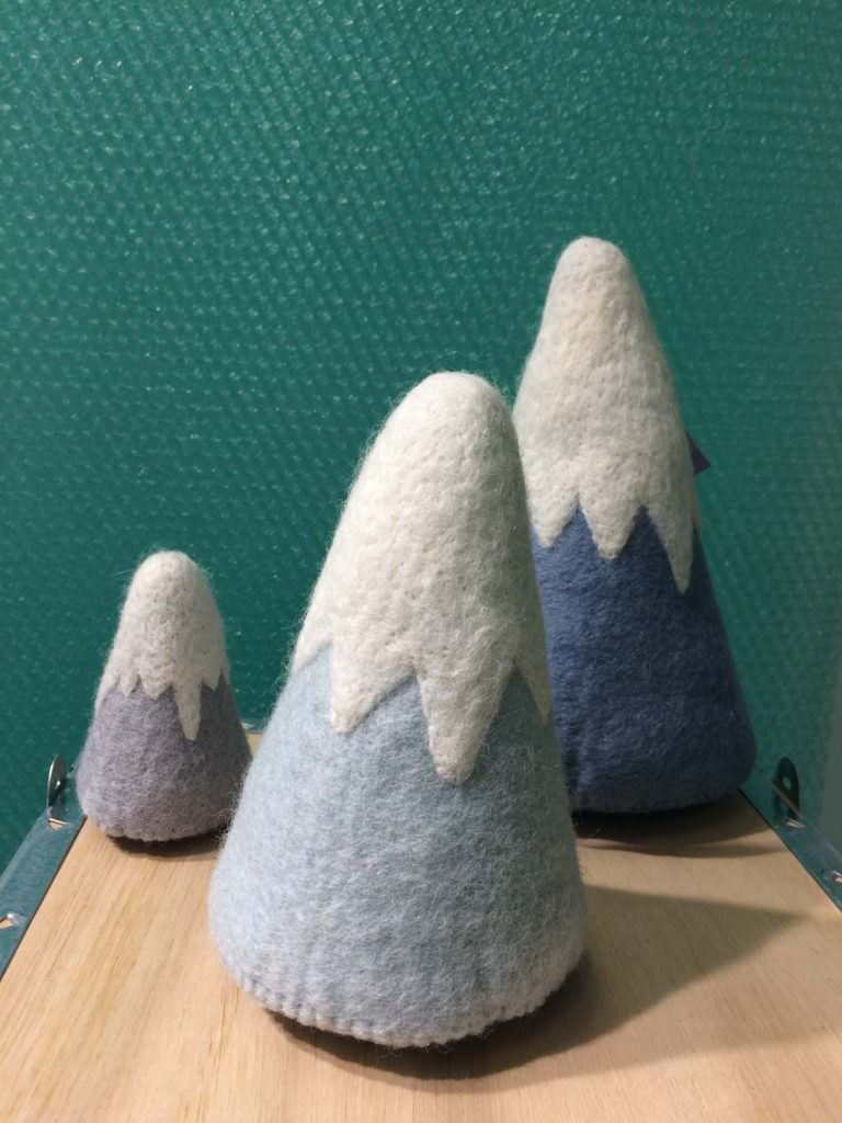 Wonderful mountain play toy for babies and toddler by Gamcha at CIFF Kids trade fair