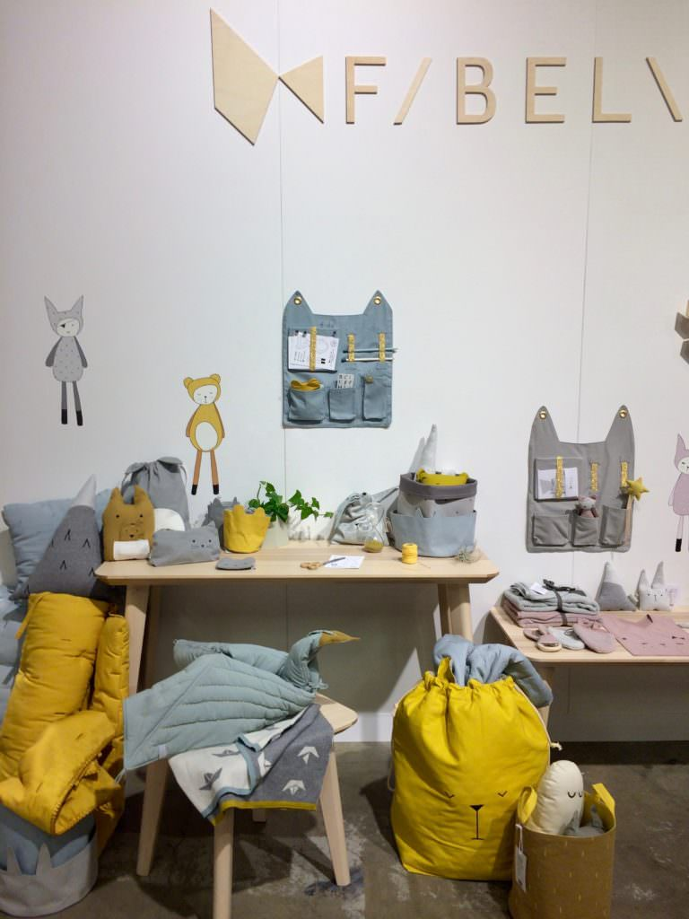 Great colour and cute products from F/BEL\B for both decoration and play for kids rooms