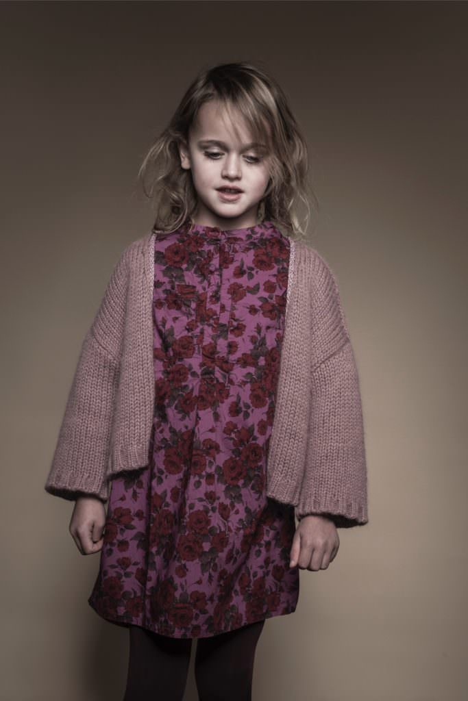 At Long Live the Queen kidswear there is a focus on strong recycled knitwear styles