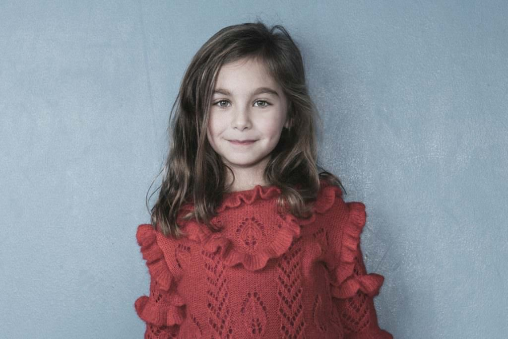 Long Live The Queen fw17 kids sustainable knitwear collection