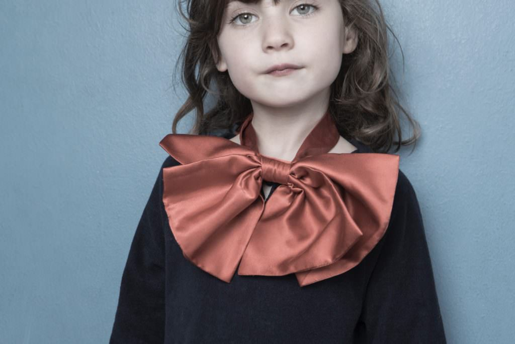 Kids fashion with recycling from Long Live The Queen for fall 2017