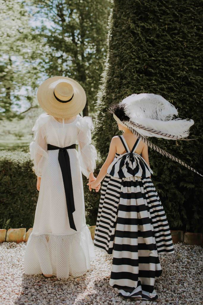 Shades of My Fair Lady for these romantic kids fashion looks at Aristocrat Kids for SS18