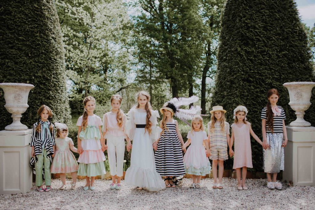 Tale of Gelato - the new Aristocrat Kids collection for SS18 luxury kidswear