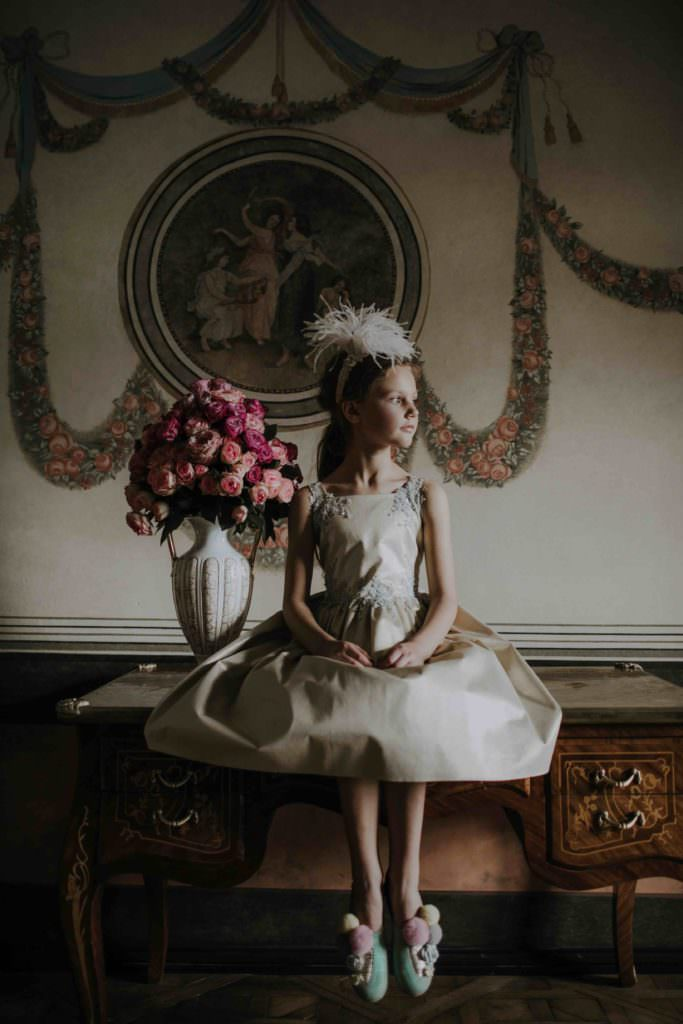 Beautifully hand made kids fashion by Aristocrat Kids for summer 2018