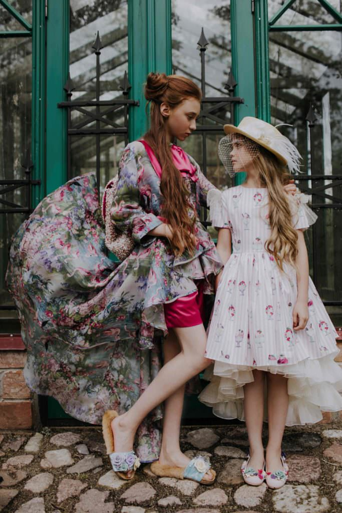 Aristocrat Kids covers sizes from 9 months to 12 years for their luxury fashion clothing