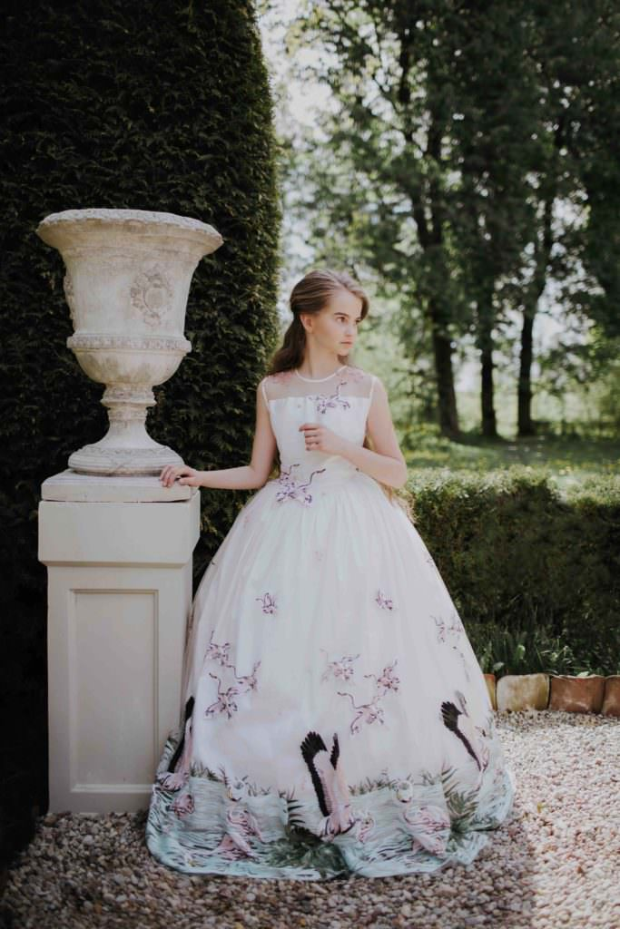Delicate detailed formal dress for teens at Aristocrat Kids regal fashion for SS18