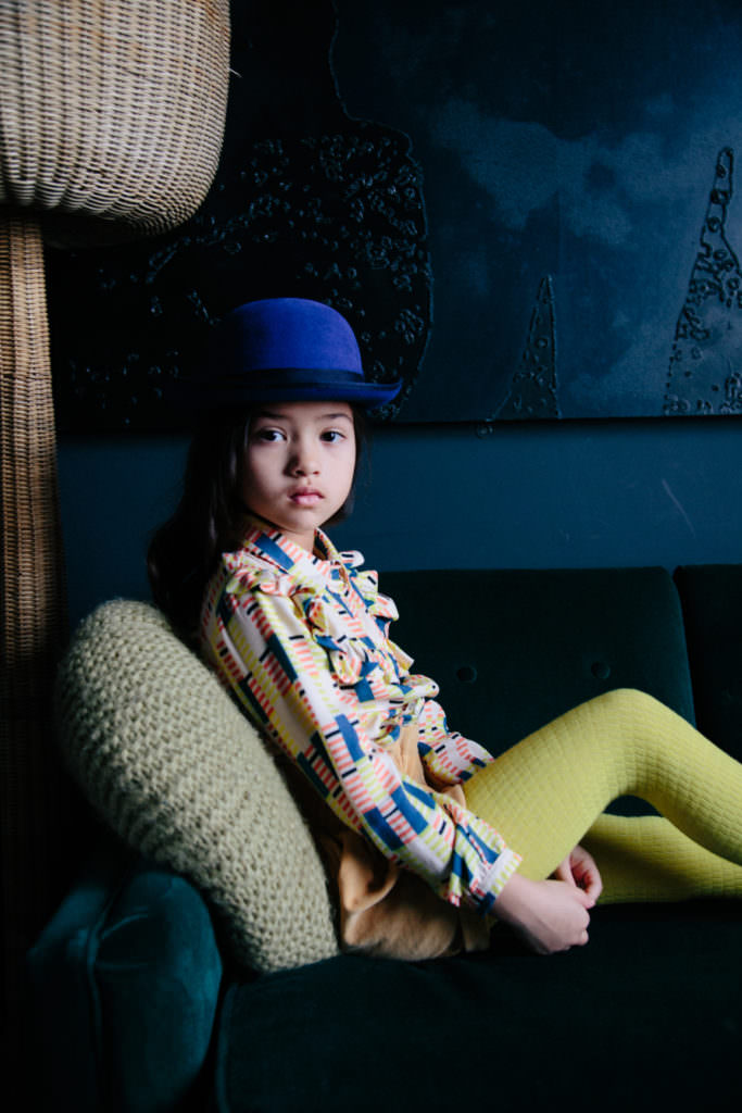 Hello Simone cute kids photos for FW17 by Emma Donnelly