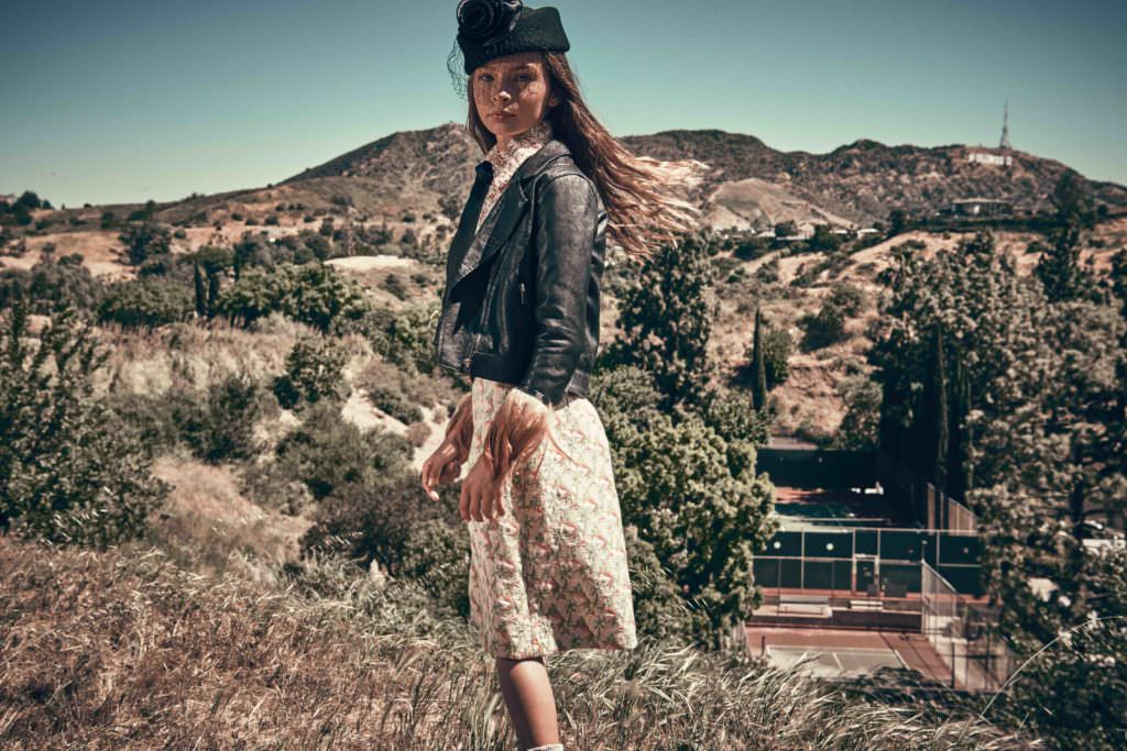 Hollyland kids fashion shoot for Hooligans magazine September issue by Franck Malthiery