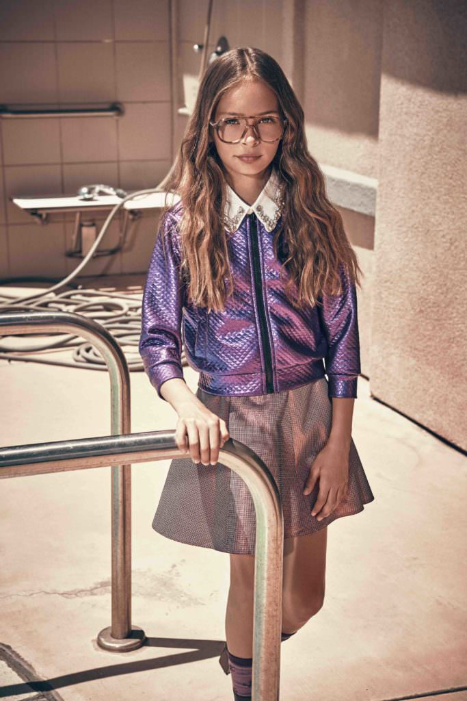 F/W 17 kids fashion from Hooligans magazine shoot by Franck Malthiery