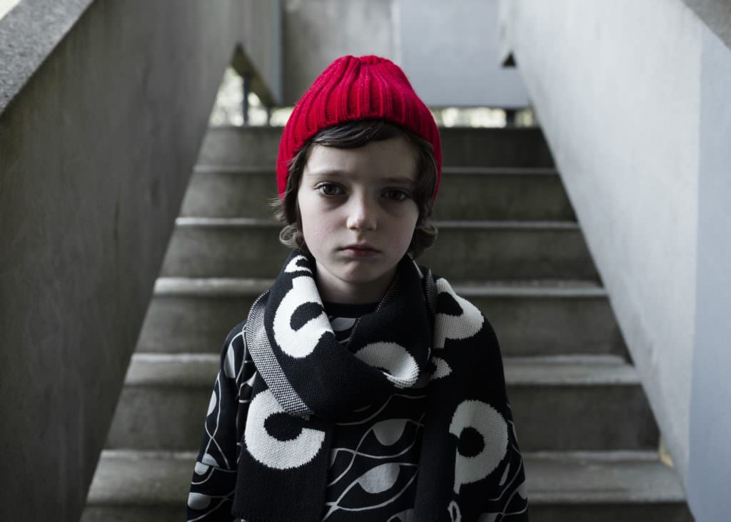 Cool knitwear from British brand Beau Loves for kids fashion winter 2017