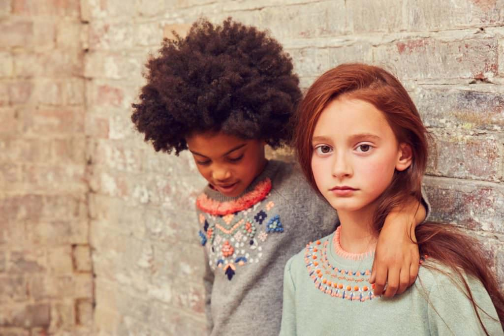 Decorative details are a signature of Outside The Lines kids fashion brand
