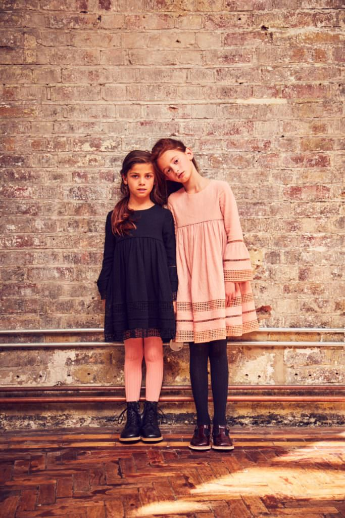 Loose easy dressing from Outside the Lines for FW 2017 girls fashion