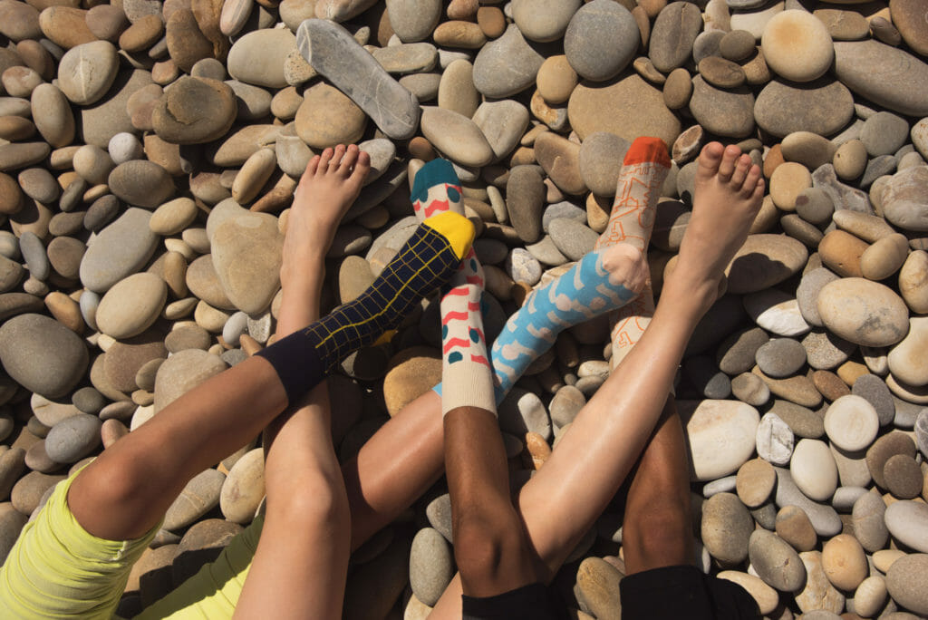 Loving the Barn of Monkeys sock collection for kidswear SS18