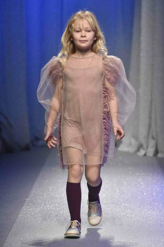 Kids fashion impressions from Pitti and important sleeves by Nikolia for FW18