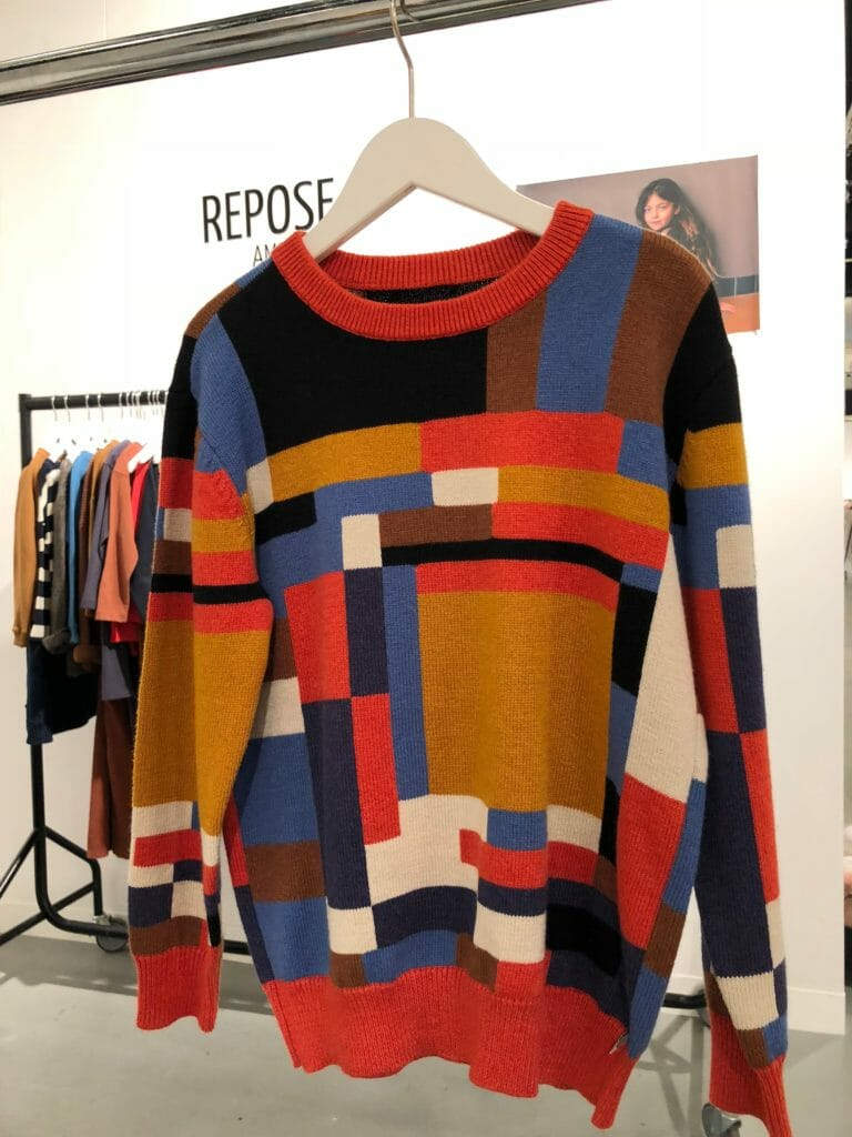 Cool autumn toned knitwear by Repose from Amsterdam at CIFF KIds