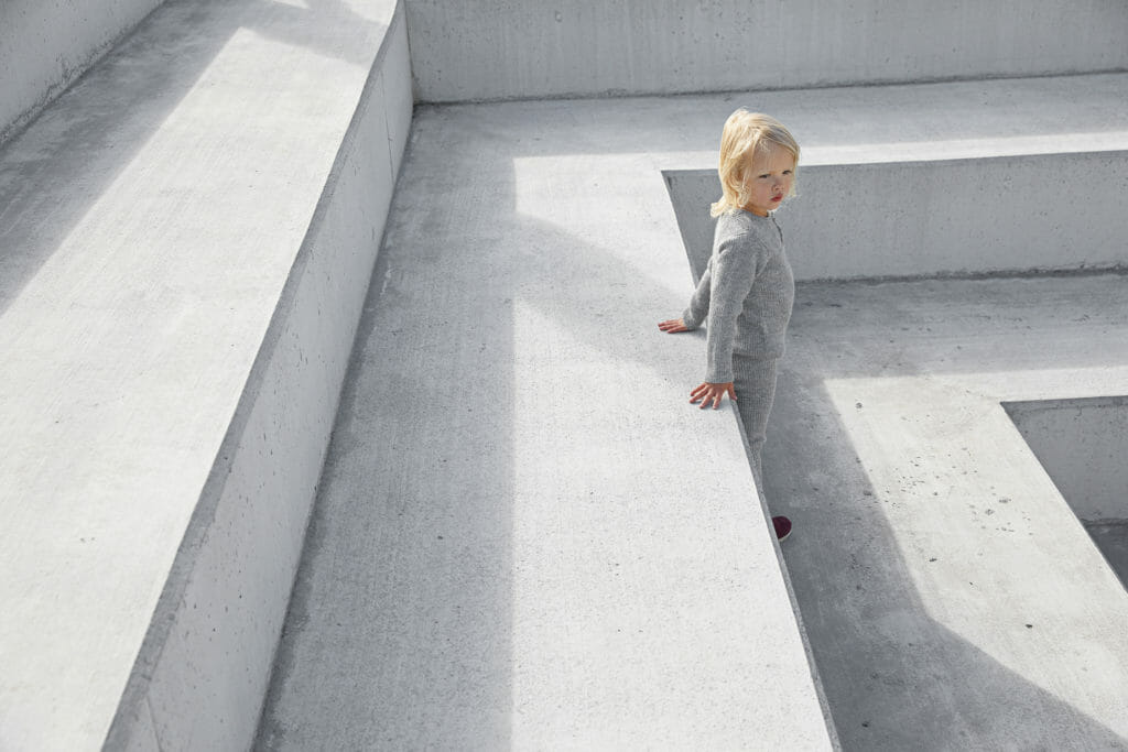 Sustainable kids knitwear from Iceland by As We Grow for SS18