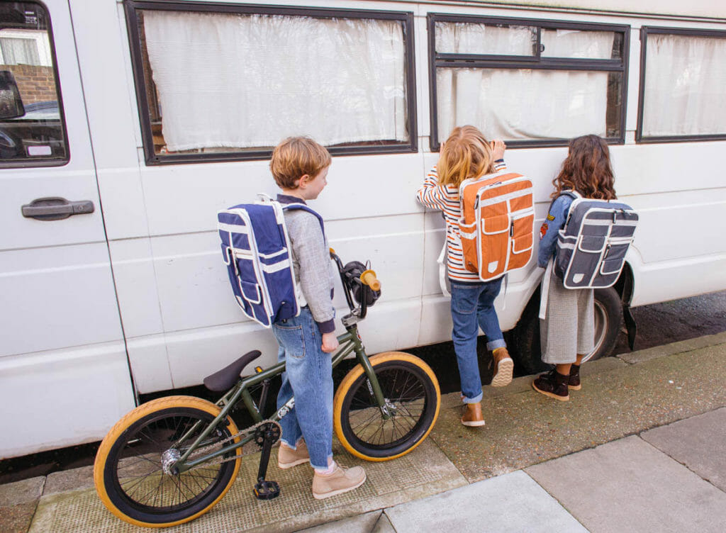 Goodordering cycling cool kids bags for SS18