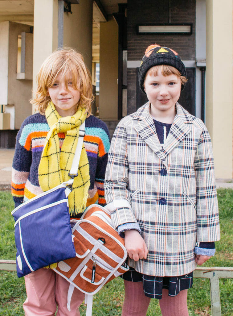 The modern colour range complements current kids fashion moods at Goodordering bags