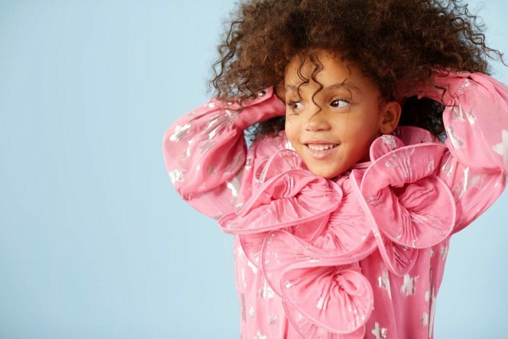 The perfect pink party princess dress at Little Marc Jacobs for summer 2018 girls fashion