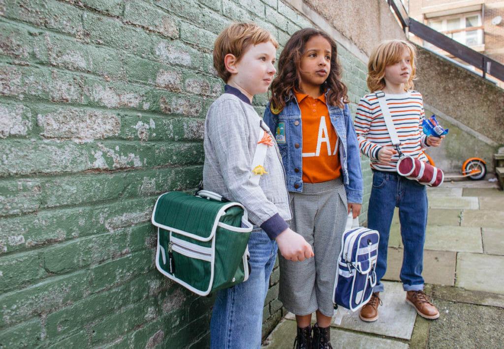 Goodordering cool kids bags for summer 2018 shot by Leonie Freeman