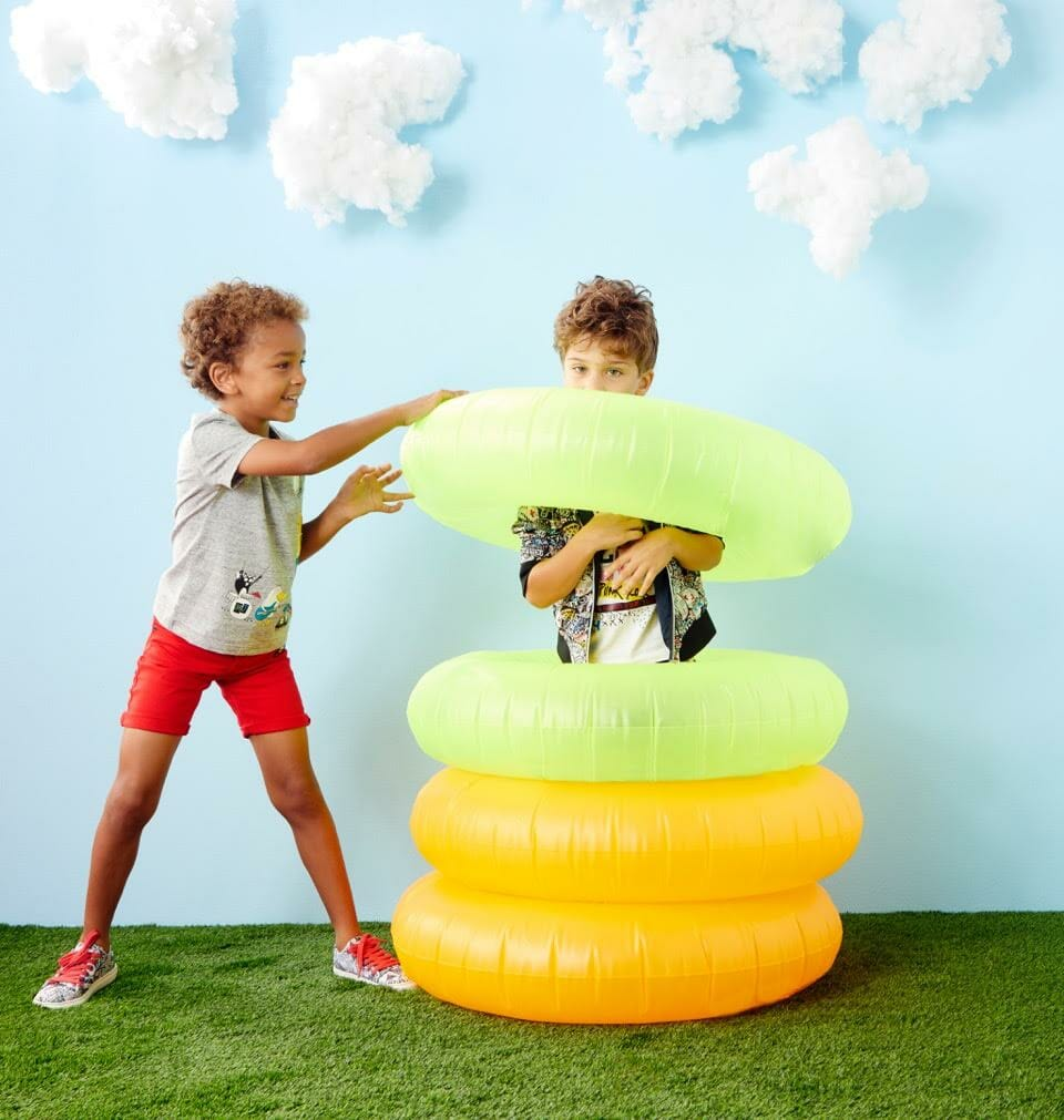 Summer fun at Little Marc Jacobs shot by NYC photographer Lee Clower