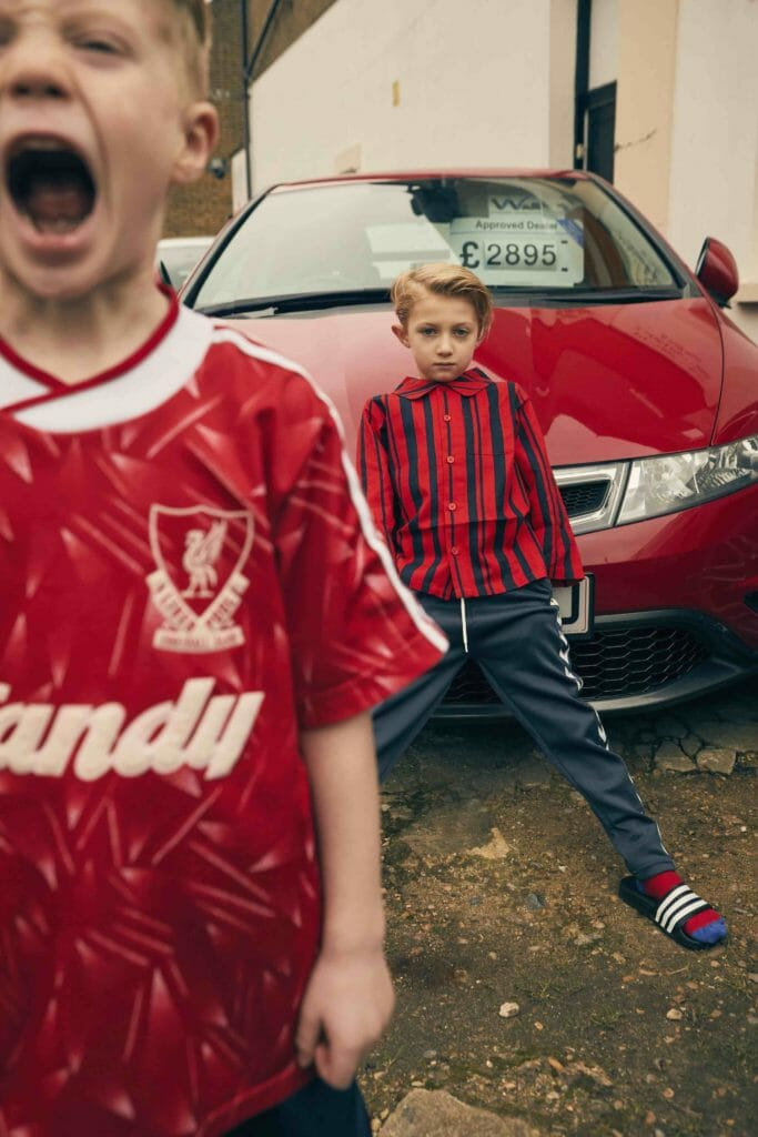 East End Boys Editorial Kids Fashion By Damian Weilers