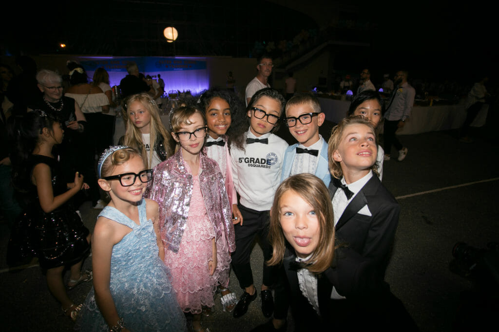 Dsquared2 prom kids at their Caten High School party clebrating 5 years of DSquared kidswear