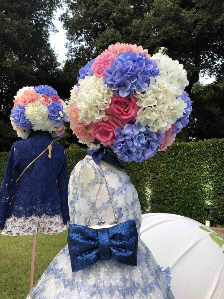 Flower designs at Monnalisa in Florence for Pitti Bimbo 87 kids fashion SS19