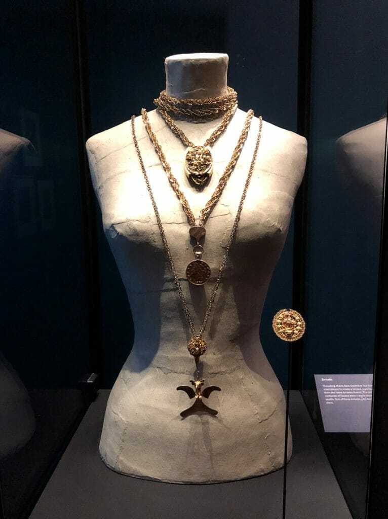 There is a good selection of Frida Kahlo's striking jewellery