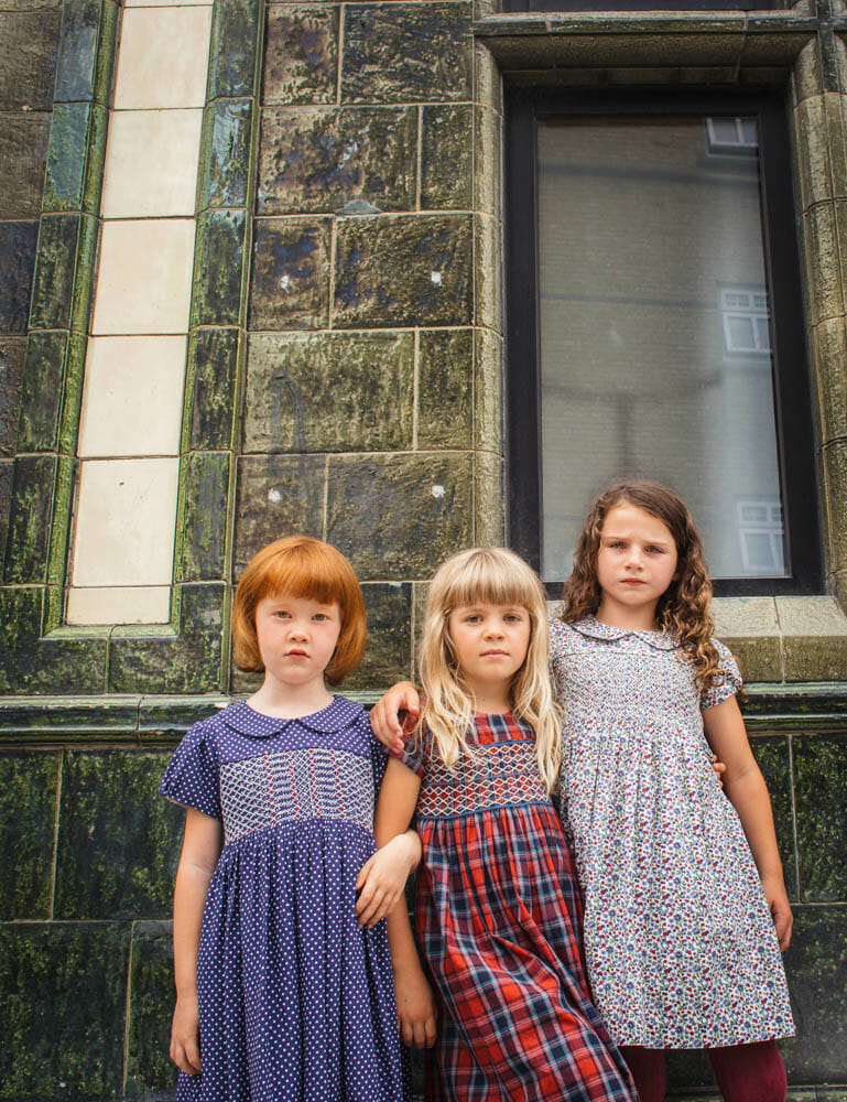 The modern girl gang in Question Everything for kidswear winter 2018