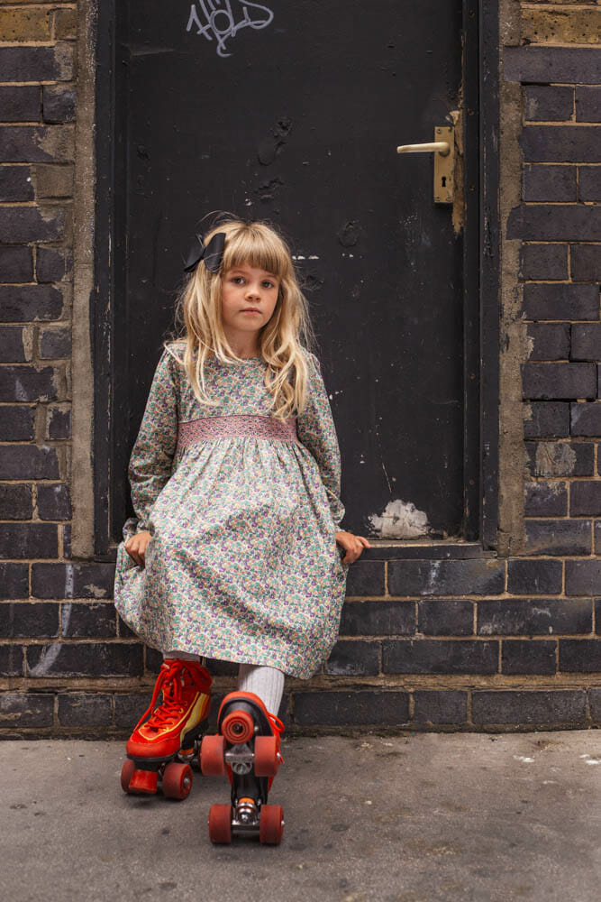 Mums who love traditional kids clothes will adore the Question Everything retro styling for girls fashion
