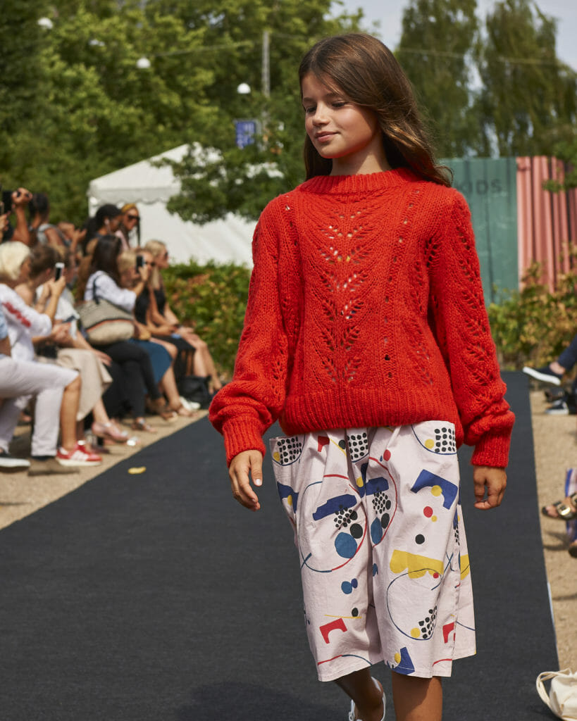 Knit - Grunt, Skirt – Barn of Monkeys, Ciff Kids catwalk photographed by Anders Hald